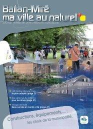 Magazine de Janvier 2011 - Ballan-Miré