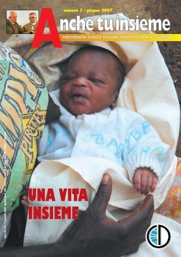 Anche tu -giugno 2007 - Africa Mission