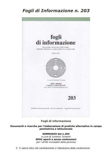 203 - Centro documentazione Pistoia