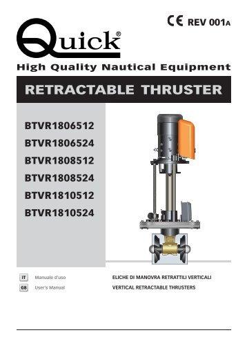 Rev. 001 A BTVR 185 - Quick® SpA