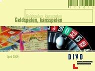 Geldspelen, kansspelen - Crioc