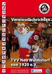 neue tvv mitglieder - TVV Neu Wulmstorf von 1920 eV