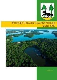 Strategia Rozwoju Powiatu Piskiego - Starostwo Powiatowe w Piszu