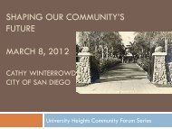 Shaping Our Community's Future: Preserving Historic Resources ...