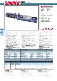 UA 30 CNC - Suhner Automation Expert