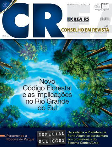 Novo Código Florestal e as implicações no Rio Grande ... - Crea-RS
