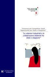 """""""Le relazioni industriali e le collaborazioni bilaterali fra Italia e ..."""