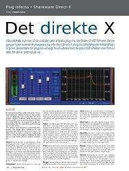 Blueline m.fl., Shareware DirectX Plug-ins - Soundcheck