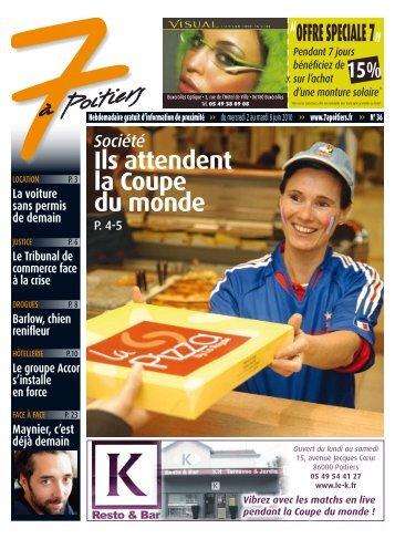 n° 36 voir ce numéro - 7 à Poitiers