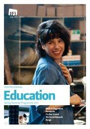 Education - Irish Film Institute