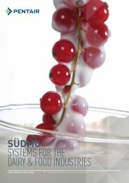 systems for the dairy & food industries - Südmo