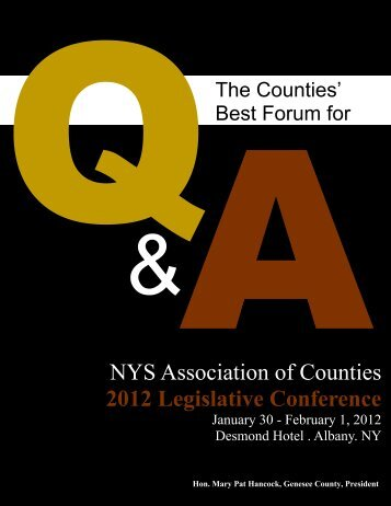 FLYER Legislative Conf 2012 FINAL.pub - New York State ...