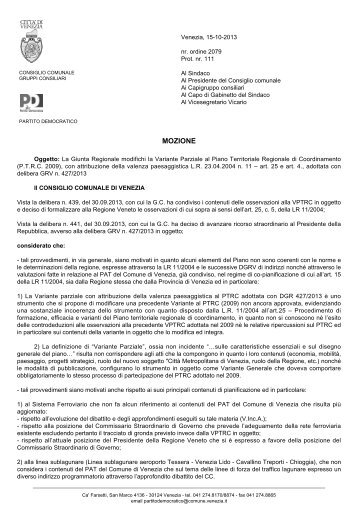 scarica documento in formato pdf - Consiglio comunale - Comune di ...
