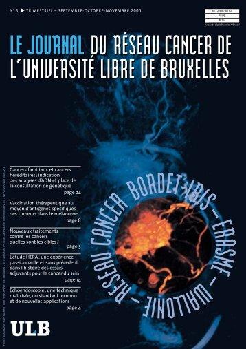 Cancers familiaux et cancers héréditaires - Institut Jules Bordet ...