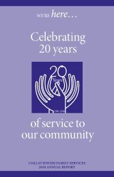 MISSION - Collat Jewish Family Services, Birmingham, Alabama