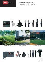 Prodotti per applicazioni residenziali e verde pubblico - Poliplast