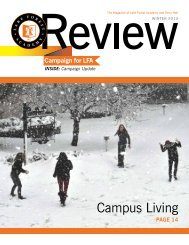 Review/Update Winter 2013 - Lake Forest Academy