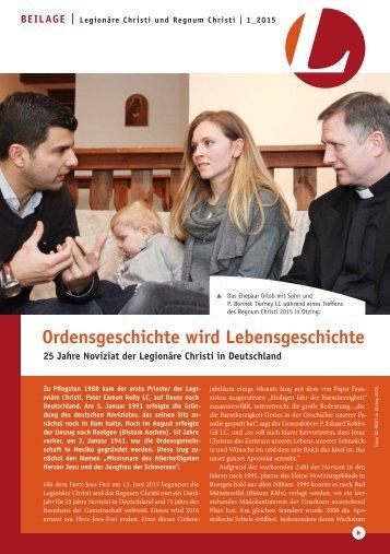 L-Magazin-Legionaere Christi_Beilage 01_2015