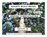 eucalipto: mitos e verdades - Sociedade Brasileira de Silvicultura