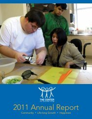 2011 Annual Report - The Center for Enriched Living