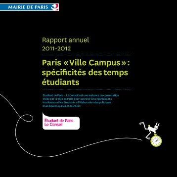 Paris Â« Ville Campus - Le Conseil - Etudiantdeparis.fr