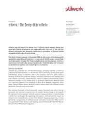 press release stilwerk Berlin