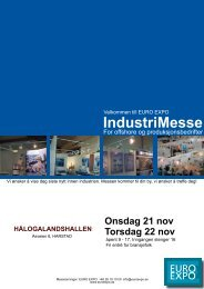 IndustriMesse - Lindberg & Lund AS