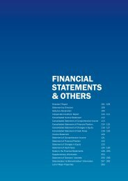 fInanCIal StatementS & otHerS - Gamuda Berhad - Investor Relations