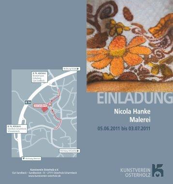 einladung - Nicola Hanke