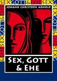 Sex, Gott, und Ehe - Plough