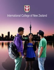 The National Diploma in Business NZQA Level 6is - ICNZ