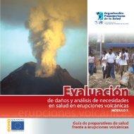 Riesgo Volcanico - Modulo 3 - Desastres