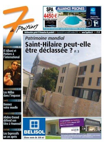 n° 49 voir ce numéro - 7 à Poitiers