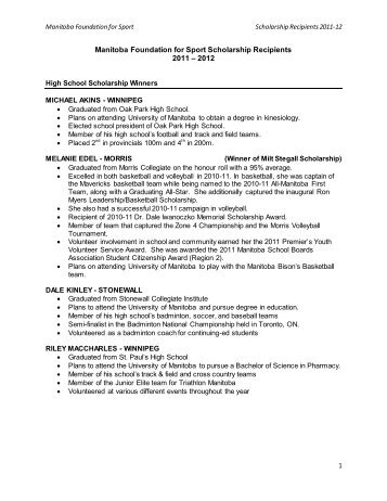 Scholars sports carnival report 2011