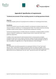 Appendix B: Specification of requirements - BeBo
