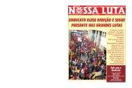 nossa_luta_de_agosto 2010.p65 - Sindicato dos Trabalhadores nas ...