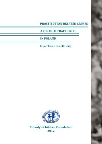 PROSTITUTION-RELATED CRIMES AND CHILD TRAFFICKING IN ...