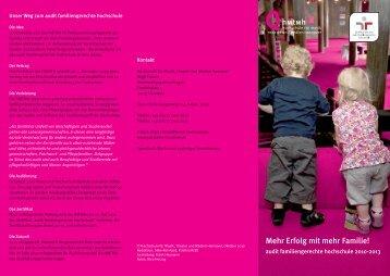 audit Flyer - Gsb.hmtm-hannover.de - Hochschule für Musik, Theater ...