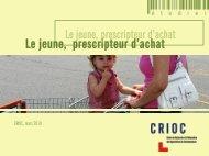 Etude - Crioc