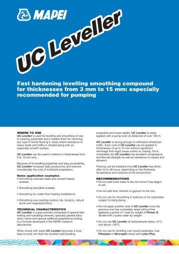 UC Leveller - Melbourne Tiling Services