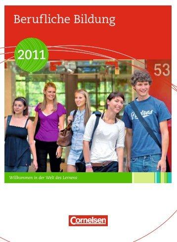 Berufliche Bildung - Cornelsen Verlag