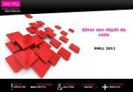 Slides de présentation - RMLL 2011