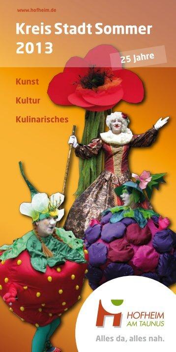 Montag - Freitag 9 Uhr bis 18:30 Uhr - Stadt Hofheim am Taunus