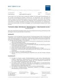 (Dipl.-) Betriebswirt / Diplomingenieur / Industriemeister (w/m)