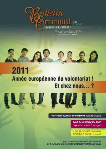 Le bulletin communal en parle, septembre 2011 - Accueil - Marche ...