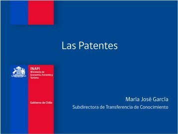 Qué es una patente - Inapi Proyecta