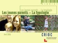 Les jeunes parents - La typologie - Crioc
