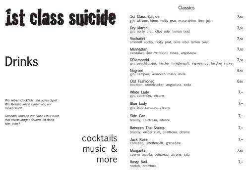 Karte 1st Class Suicide