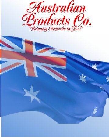 Annual Catalog PDF - Australian Products Co.