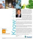 know how magazine - 2011 volume 14, issue 2 - Pentair - Page 2